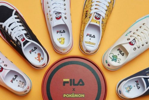 7c98b42736c08 FILA Korea has launched a capsule collection inspired by the famous pocket  monsters