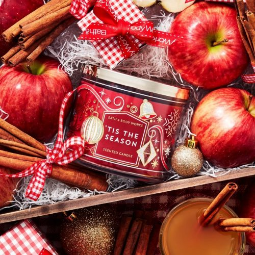 Bath & Body Works Christmas Edition Scented Candles