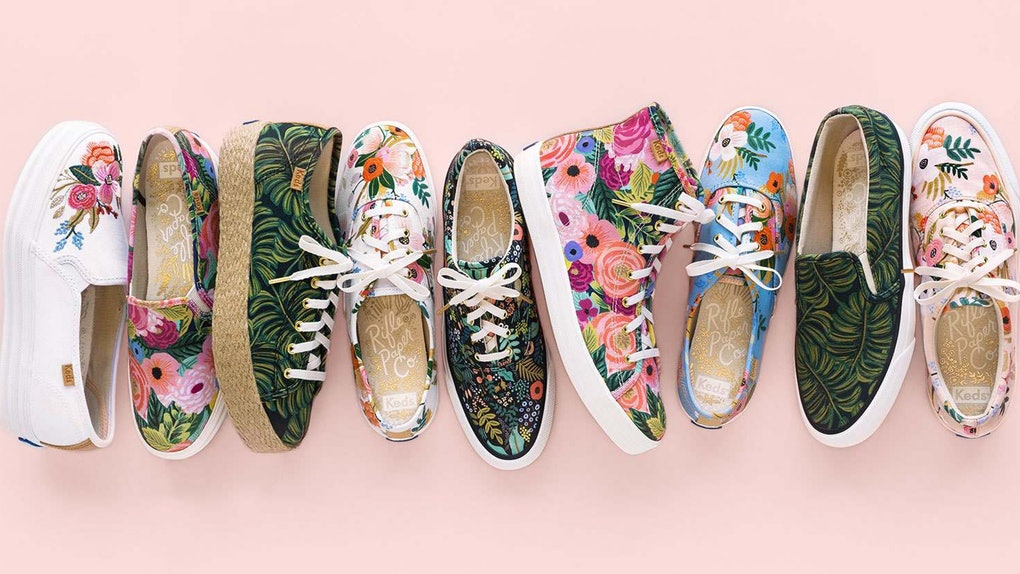 Keds x Rifle Paper Co Discounts on