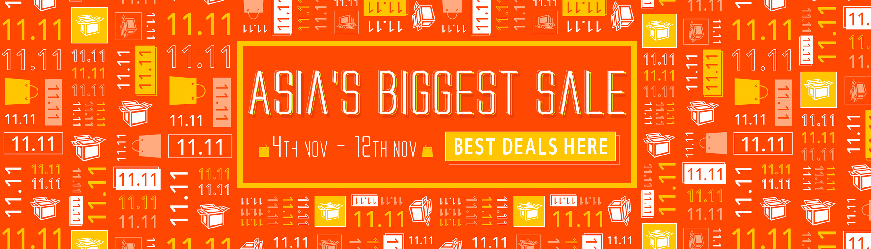 11.11 Sale 2019 - Asia's Biggest Sale