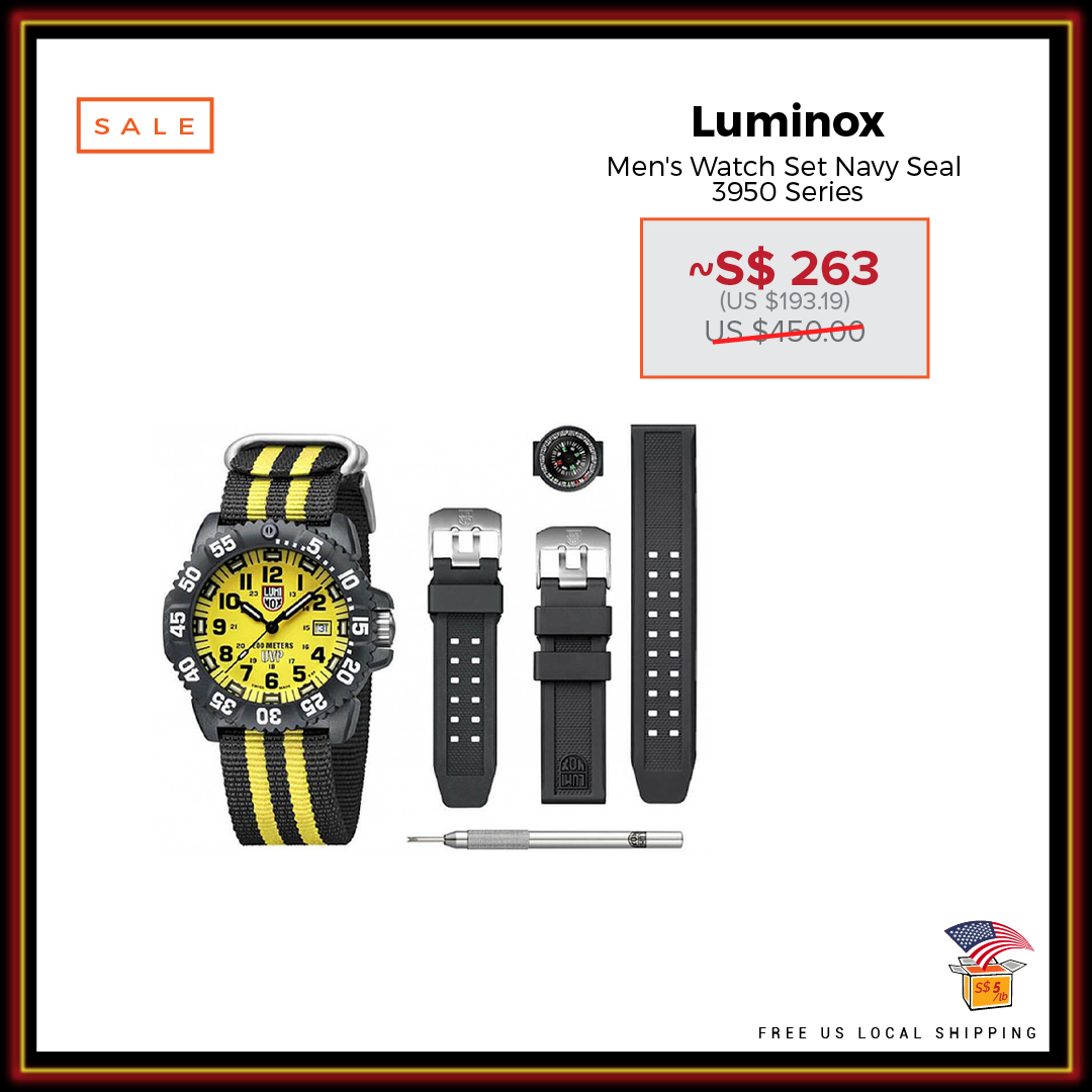 eBay US Black Friday Deals Luminox