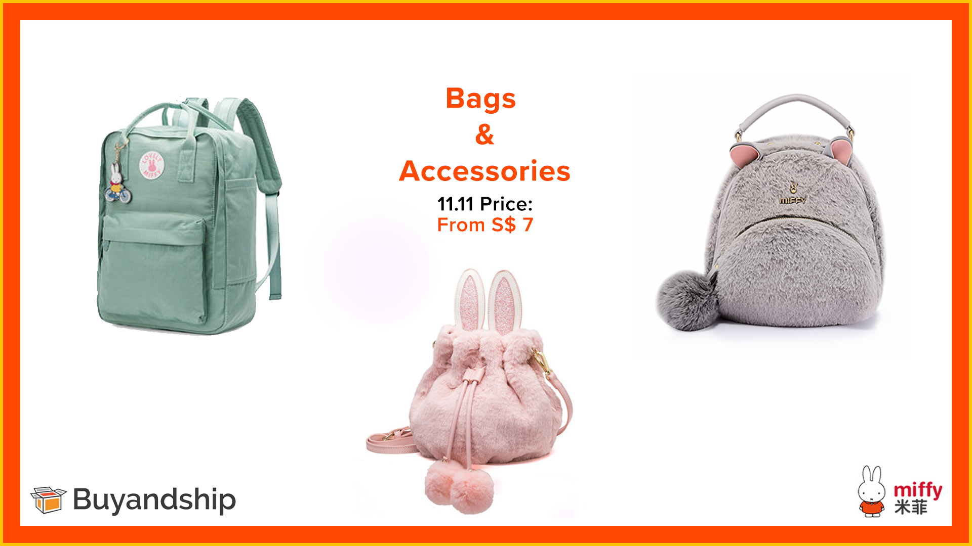11.11 Sale 2019 - Miffy Luggage Store