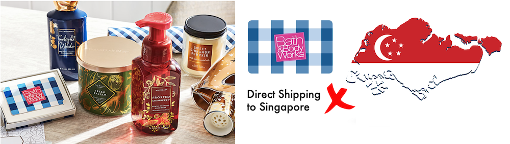 shop Bath & Body Works ship to Singapore
