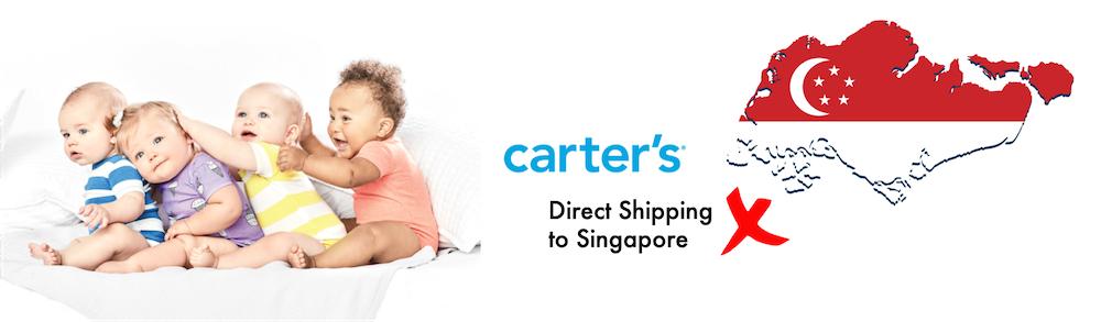 shop carter's ship to Singapore