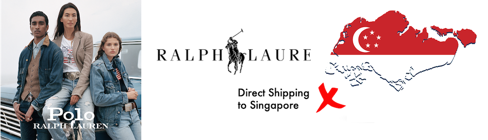 shop ralph lauren ship to Singapore