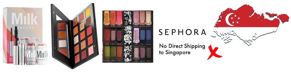 shop sephora usa ship to Singapore