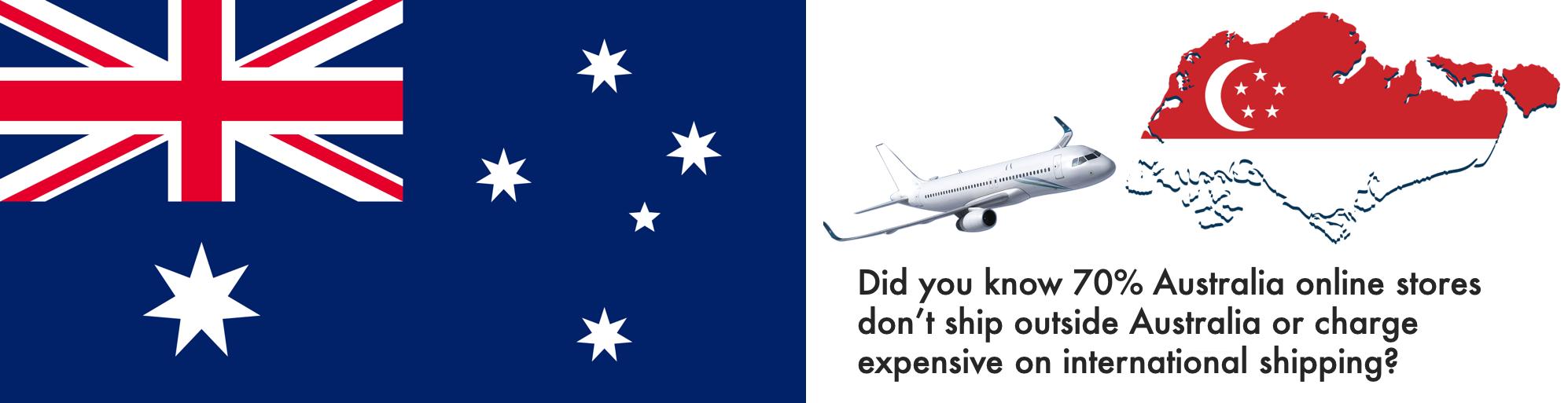 shop australia ship to Singapore