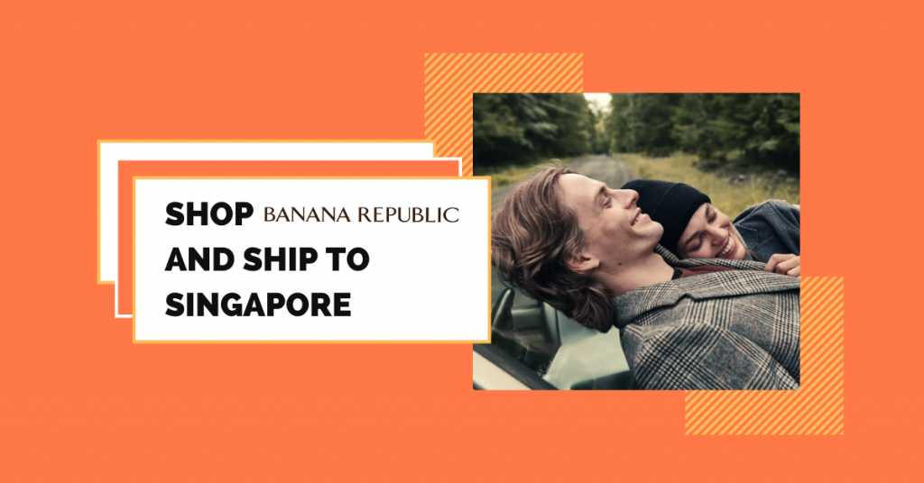 shop Banana Republic ship to Singapore