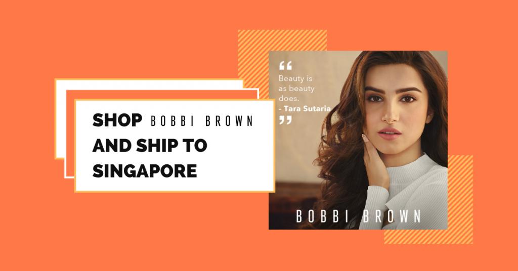 shop Bobbi Brown Cosmetics ship to Singapore