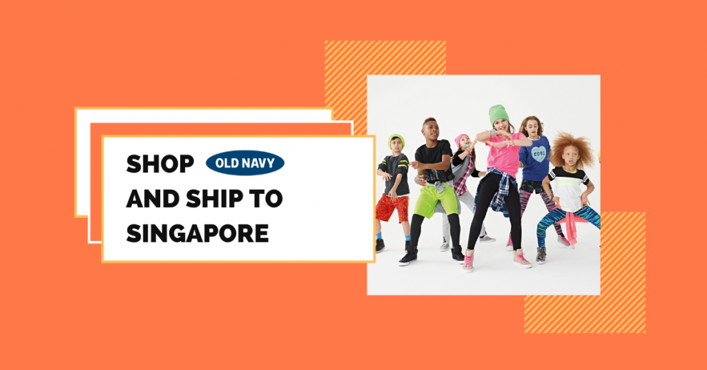 shop Old Navy ship to Singapore